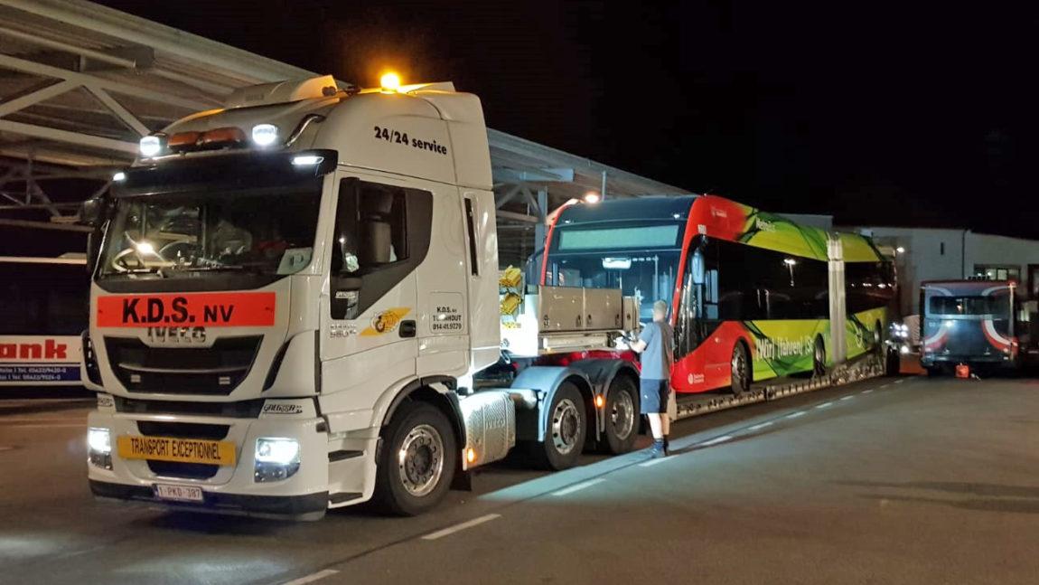 Größte E-Gelenkbusflotte bundesweit